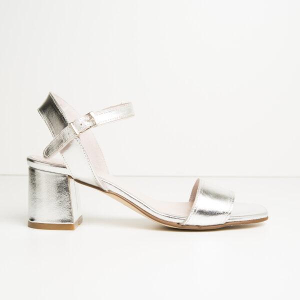 Sandalia Fashion Plata