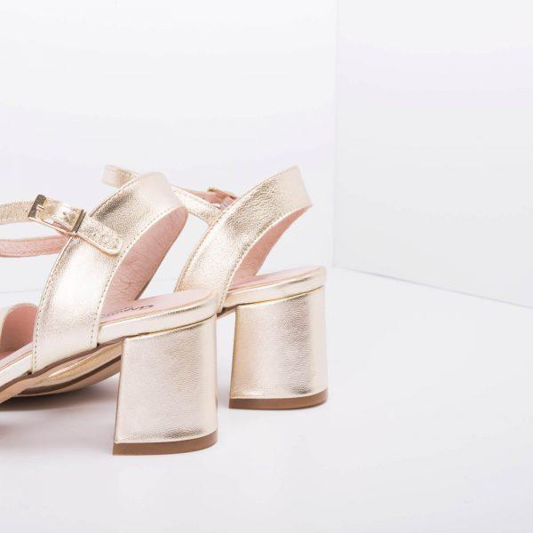 Sandalia Fashion Plata/ Cobre rosé/ Platino