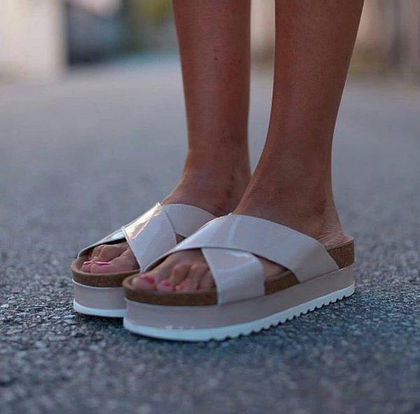 Natural Bio Leather Sandal