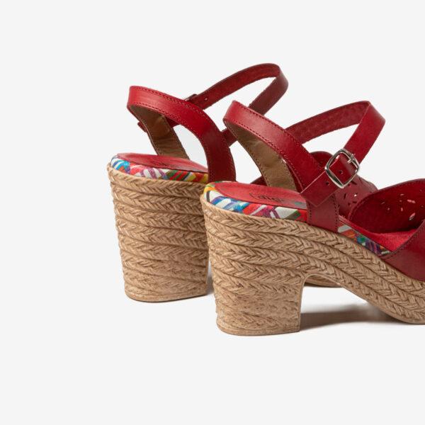 Sandalia Florenne Rojo- Nueva Colección