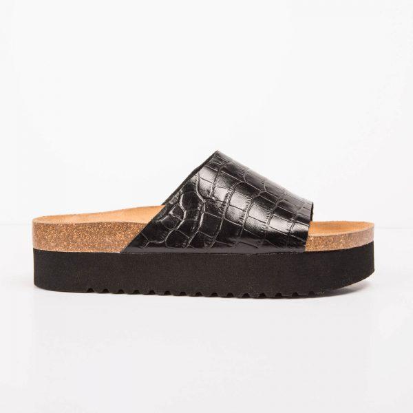 Black Flat BIO Sandal