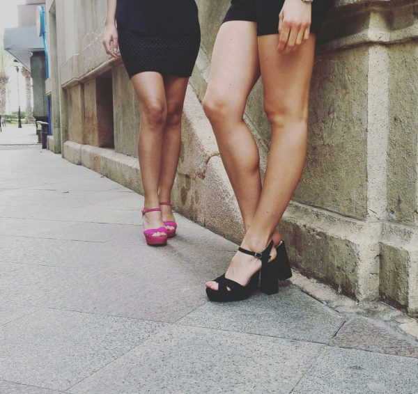 Sandalia Ante Trend Negro