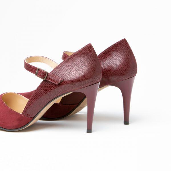 Zapato Salón Femme Burdeos