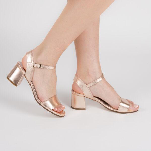 Sandalia Fashion Cobre Rosé