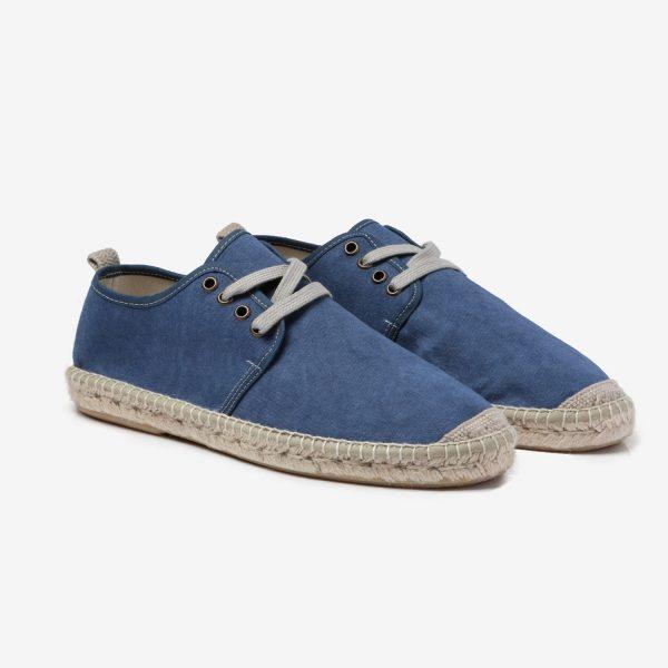Alpargata Lona Yute Azul Jeans- Nueva Colección